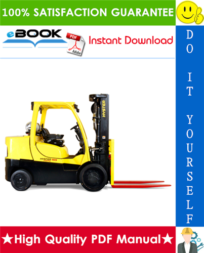 Thumbnail ☆☆ Best ☆☆ Hyster FORTIS S135FT, S155FT (D024) Compact Internal Combustion Forklift Parts Manual