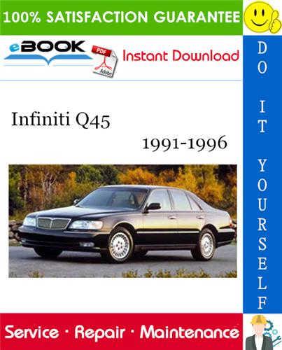 Thumbnail ☆☆ Best ☆☆ Infiniti Q45 Service Repair Manual 1991-1996 Download