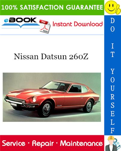 Thumbnail ☆☆ Best ☆☆ 1974 Nissan Datsun 260Z Service Repair Manual