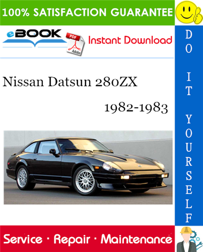 Thumbnail ☆☆ Best ☆☆ Nissan Datsun 280ZX Service Repair Manual 1982-1983 Download