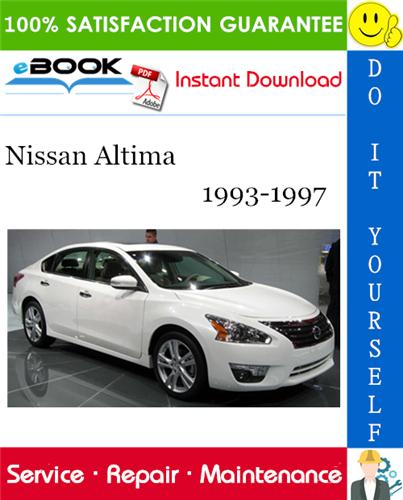 Thumbnail ☆☆ Best ☆☆ Nissan Altima Service Repair Manual 1993-1997 Download