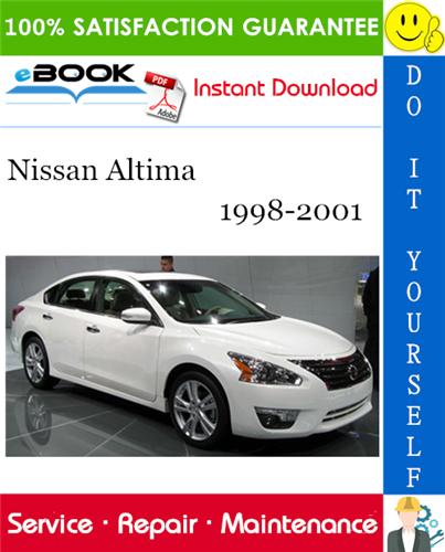 Thumbnail ☆☆ Best ☆☆ Nissan Altima Service Repair Manual 1998-2001 Download