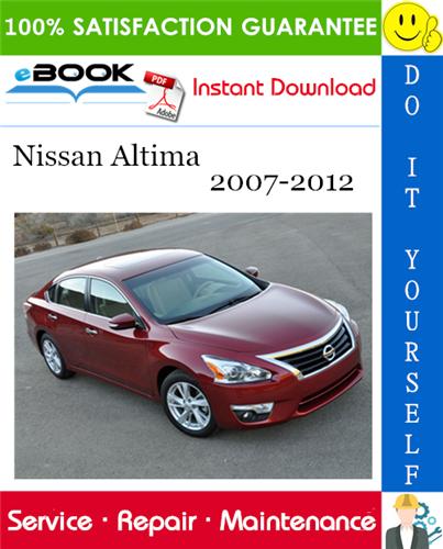 Thumbnail ☆☆ Best ☆☆ Nissan Altima Service Repair Manual 2007-2012 Download