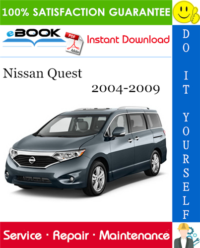 Thumbnail ☆☆ Best ☆☆ Nissan Quest Service Repair Manual 2004-2009 Download