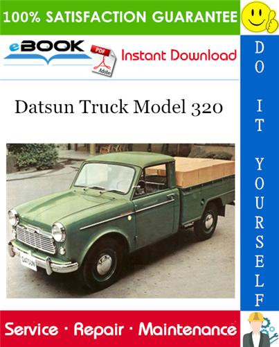 Thumbnail ☆☆ Best ☆☆ Datsun Truck Model 320 Service Repair Manual