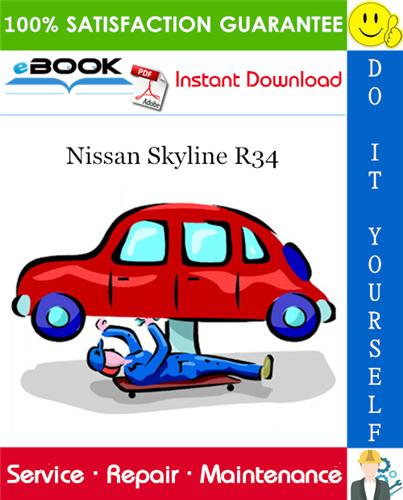 Thumbnail ☆☆ Best ☆☆ Nissan Skyline R34 Service Repair Manual