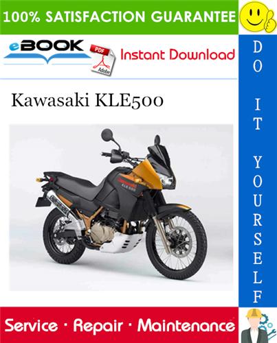 Thumbnail ☆☆ Best ☆☆ 2005 Kawasaki KLE500 Motorcycle Service Repair Manual