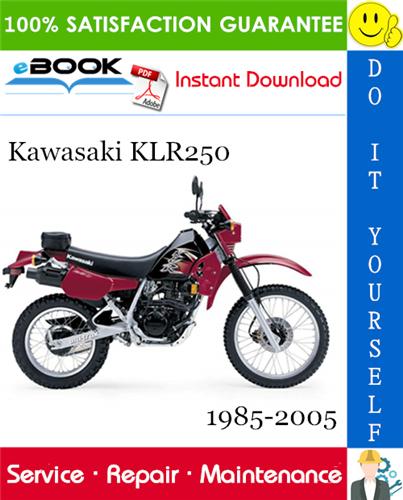 Thumbnail ☆☆ Best ☆☆ Kawasaki KLR250 Motorcycle Service Repair Manual Supplement 1985-2005 Download