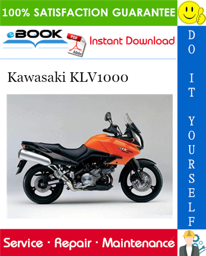 Thumbnail ☆☆ Best ☆☆ 2004 Kawasaki KLV1000 Motorcycle Service Repair Manual