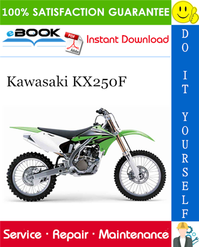 Thumbnail ☆☆ Best ☆☆ 2004 Kawasaki KX250F Motorcycle Service Repair Manual