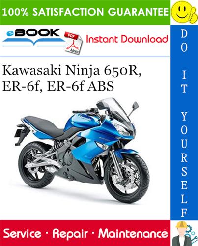 Thumbnail ☆☆ Best ☆☆ 2006 Kawasaki Ninja 650R, ER-6f, ER-6f ABS Motorcycle Service Repair Manual