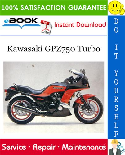 Thumbnail ☆☆ Best ☆☆ 1984 Kawasaki GPZ750 Turbo Motorcycle Service Repair Manual Supplement