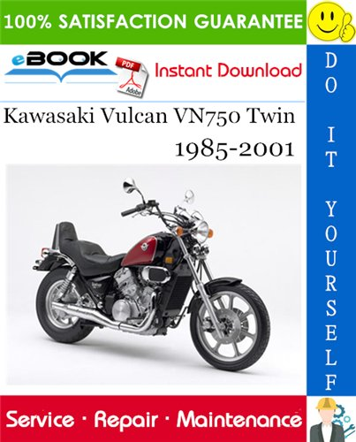 Thumbnail ☆☆ Best ☆☆ Kawasaki Vulcan VN750 Twin Motorcycle Service Repair Manual 1985-2001 Download