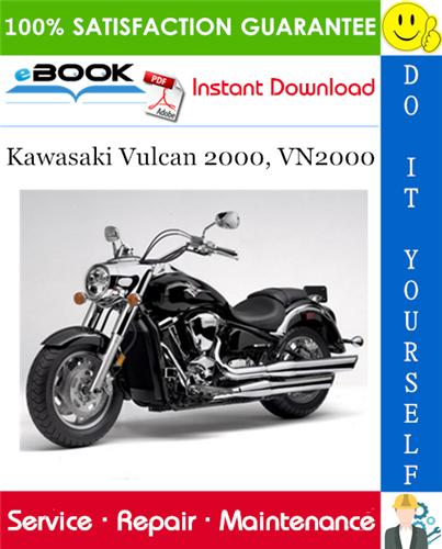 Thumbnail ☆☆ Best ☆☆ 2004 Kawasaki Vulcan 2000, VN2000 Motorcycle Service Repair Manual