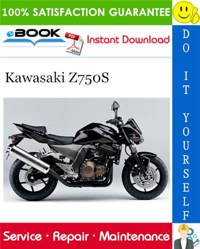Thumbnail ☆☆ Best ☆☆ 2005 Kawasaki Z750S Motorcycle Service Repair Manual