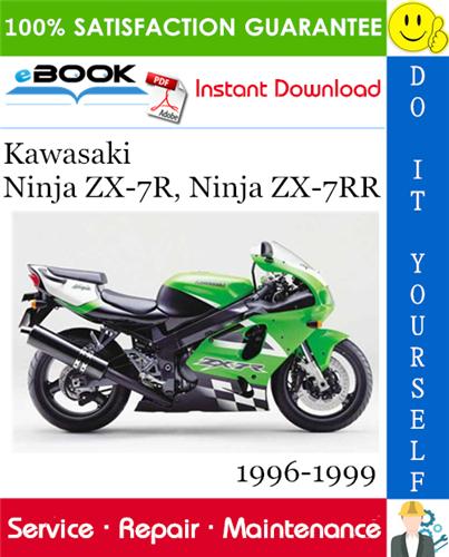 Thumbnail ☆☆ Best ☆☆ Kawasaki Ninja ZX-7R, Ninja ZX-7RR Motorcycle Service Repair Manual 1996-1999 Download