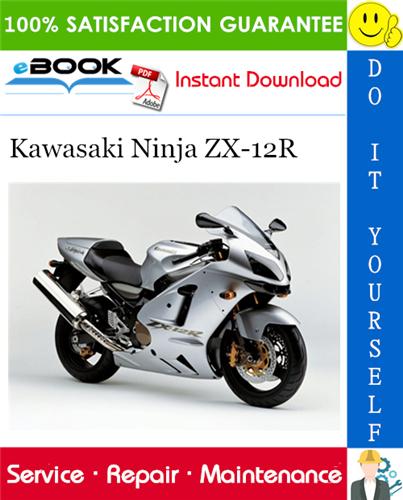 Thumbnail ☆☆ Best ☆☆ 2000 Kawasaki Ninja ZX-12R Motorcycle Service Repair Manual