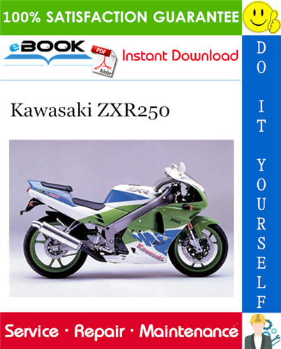 Thumbnail ☆☆ Best ☆☆ 1997 Kawasaki ZXR250 Motorcycle Service Repair Manual