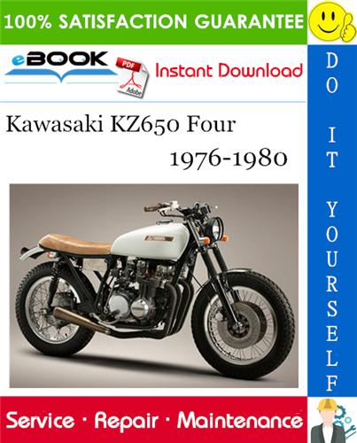 Thumbnail ☆☆ Best ☆☆ Kawasaki KZ650 Four Motorcycle Service Repair Manual 1976-1980 Download