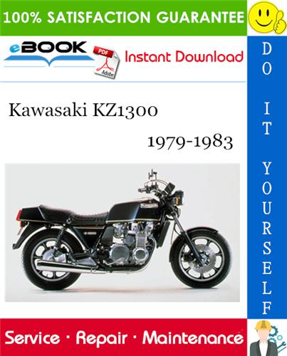 Thumbnail ☆☆ Best ☆☆ Kawasaki KZ1300 Motorcycle Service Repair Manual 1979-1983 Download