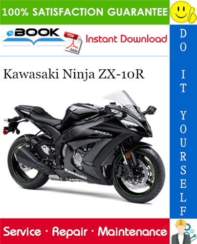 Thumbnail ☆☆ Best ☆☆ 2003 Kawasaki Ninja ZX-10R Motorcycle Service Repair Manual