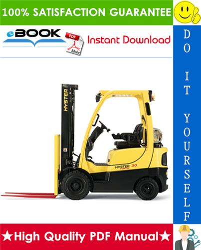 Thumbnail ☆☆ Best ☆☆ Hyster Challenger H30H, H40H, H50H, H60H (E003) Forklift Trucks Parts Manual