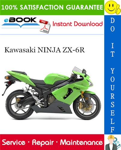 Thumbnail ☆☆ Best ☆☆ 2005 Kawasaki NINJA ZX-6R Motorcycle Service Repair Manual