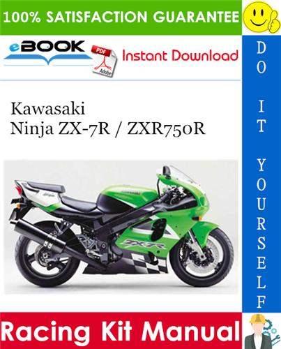 Thumbnail ☆☆ Best ☆☆ 1992 Kawasaki Ninja ZX-7R / ZXR750R Racing Kit Manual