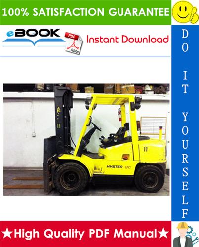 Thumbnail ☆☆ Best ☆☆ Hyster SPACESAVER S70XM, S80XM, S100XM, S120XM, S80XMS, S100XMS, S120XMS, S80XMBCS, S100XMBCS (E004) Forklift Trucks Parts Manual