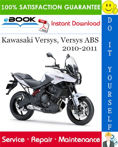 Thumbnail ☆☆ Best ☆☆ Kawasaki Versys, Versys ABS Motorcycle Service Repair Manual 2010-2011 Download