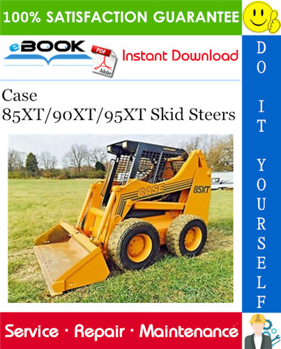 Thumbnail ☆☆ Best ☆☆ Case 85XT/90XT/95XT Skid Steers Service Repair Manual