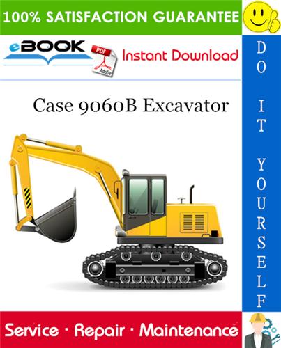 Thumbnail ☆☆ Best ☆☆ Case 9060B Excavator Service Repair Manual