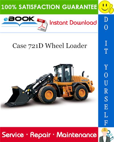 Thumbnail ☆☆ Best ☆☆ Case 721D Wheel Loader Service Repair Manual