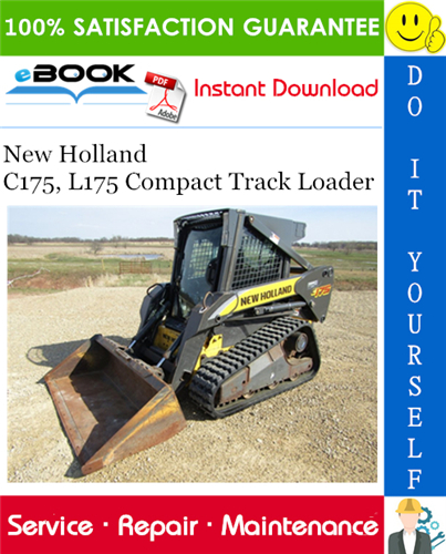 Thumbnail ☆☆ Best ☆☆ New Holland C175, L175 Compact Track Loader Service Repair Manual
