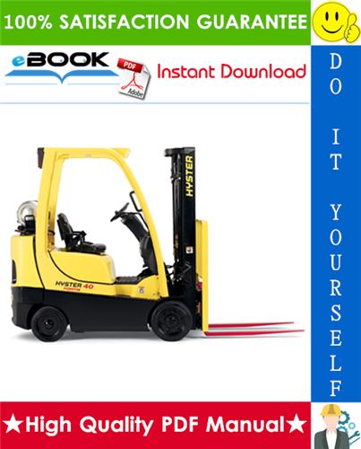 Thumbnail ☆☆ Best ☆☆ Hyster Challenger H300HD, H330HD, H360HD, H360HD-EC (E019) High-Capacity Forklift Trucks Parts Manual