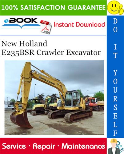 Thumbnail ☆☆ Best ☆☆ New Holland E235BSR Crawler Excavator Service Repair Manual
