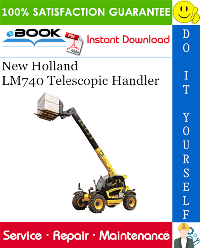 Thumbnail ☆☆ Best ☆☆ New Holland LM740 Telescopic Handler Service Repair Manual