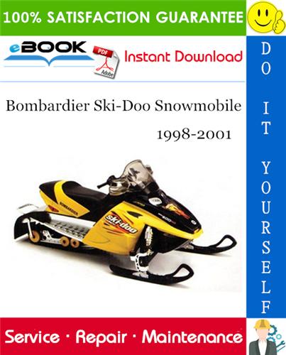 Thumbnail ☆☆ Best ☆☆ Bombardier Ski-Doo Snowmobile Service Repair Manual 1998-2001 Download