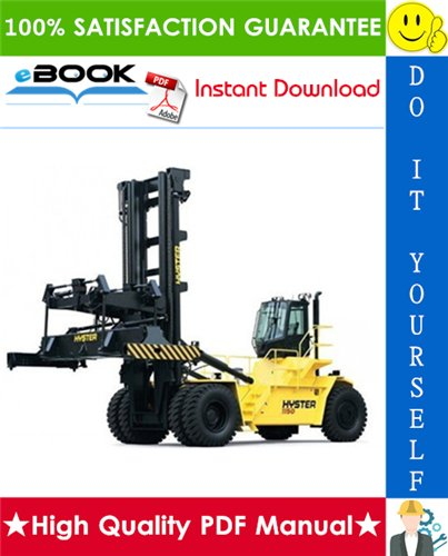 Thumbnail ☆☆ Best ☆☆ Hyster Challenger H1050HD-CH, H1150HD-CH (E117) Container Handlers Parts Manual