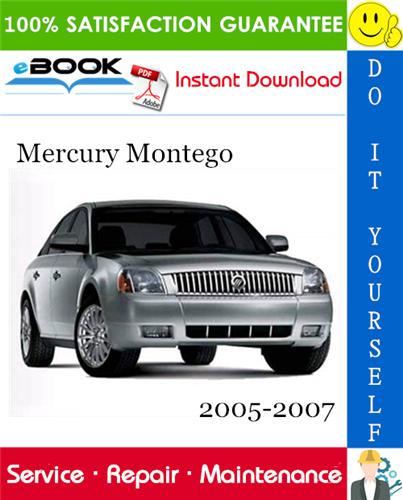 Thumbnail ☆☆ Best ☆☆ Mercury Montego Service Repair Manual 2005-2007 Download