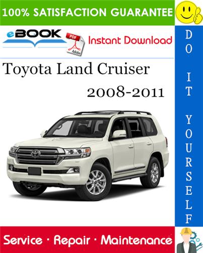 Thumbnail ☆☆ Best ☆☆ Toyota Land Cruiser Service Repair Manual 2008-2011 Download