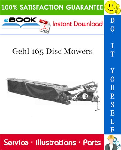 Thumbnail ☆☆ Best ☆☆ Gehl 165 Disc Mowers Parts Manual