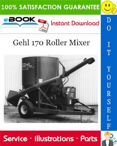 Thumbnail ☆☆ Best ☆☆ Gehl 170 Roller Mixer Parts Manual
