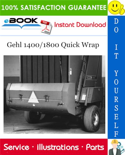 Thumbnail ☆☆ Best ☆☆ Gehl 1400/1800 Quick Wrap Parts Manual