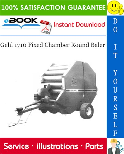 Thumbnail ☆☆ Best ☆☆ Gehl 1710 Fixed Chamber Round Baler Parts Manual