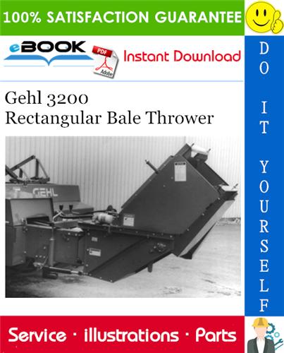 Thumbnail ☆☆ Best ☆☆ Gehl 3200 Rectangular Bale Thrower Parts Manual