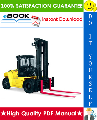 Thumbnail ☆☆ Best ☆☆  Hyster Challenger H170HD, H190HD, H210HD, H230HD, H250HD, H280HD (F007) Heavy-Duty Forklifts Parts Manual