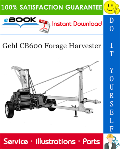 Thumbnail ☆☆ Best ☆☆ Gehl CB600 Forage Harvester Parts Manual