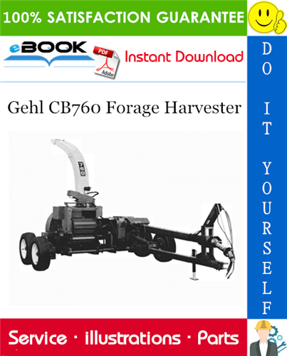 Thumbnail ☆☆ Best ☆☆ Gehl CB760 Forage Harvester Parts Manual