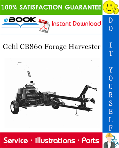 Thumbnail ☆☆ Best ☆☆ Gehl CB860 Forage Harvester Parts Manual